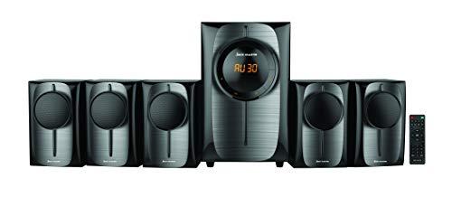 Jack Martin JM 2000 Bluetooth / SD Card / USB 5.1 Multimedia Home Theatre Speaker System with Built in FM Radio