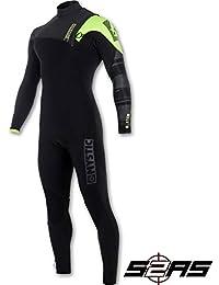 Mystic 2018 Majestic 3 2mm Zip Free Wetsuit Black Lime 170260 Wetsuit Sizes  - b5f95005ab5d