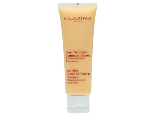 Clarins One-Step Gentle Exfoliating Cleanser, All Skin Types, Donna, 125 ml