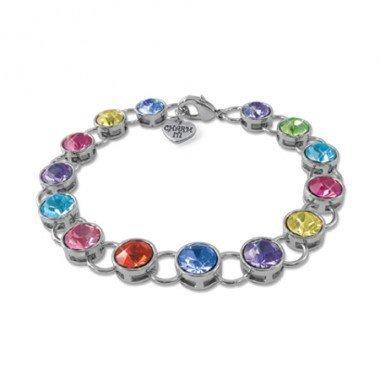 Charm It! Acrylic Link Bracelet by Charm It!