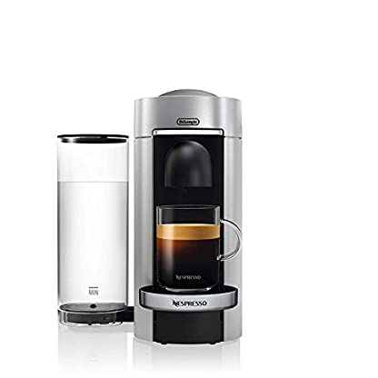 DeLonghi-Nespresso-Vertuo-Plus-ENV-155S-Kaffeekapselmaschine-Perfekte-Crema-dank-Centrifusion-Technologie-Inkl-Willkommenspaket-mit-12-Kapseln-17-L-silber