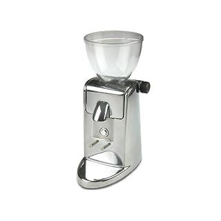 Ascaso M-313 i-mini i-1 T Kaffeemühle aluminium poliert Scheibenmahlwerk mit Timer