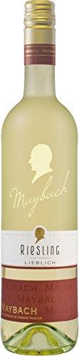 Riesling Wein Süße (Maybach Riesling 2016 Lieblich (1 x 0.75 l))