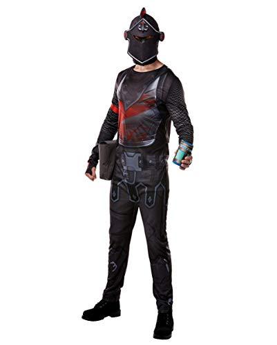 Horror-Shop Fortnite Black Knight Kostüm als Verkleidung für alle Fortnite Fans L