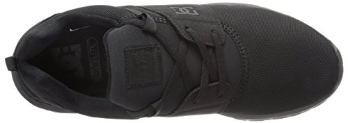 DC Shoes Mens Heathrow Sneakers Low Top Shoes Black 3BK