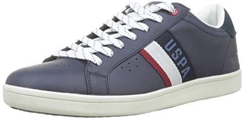 U.S. POLO ASSN. Icon, Sneaker Uomo, Blu (Blu Scuro 002), 44 EU