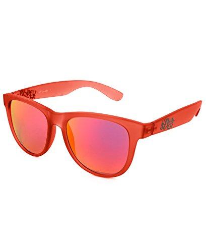 Urban Beach Tron Wayfarer Sonnenbrille M rot