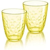 Luminarc n6274 6 vasos 31 cl-pepite camisetas, amarillo