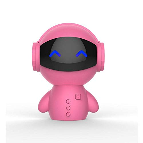 XXQ Bluetooth Mini Speaker, Wireless Plug -in Mobile Power Robot Speaker Power Mobile Plug