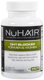 Natrol Nuhair DHT Blocker - 60 Tabs, 2 pack by Nu-Hair
