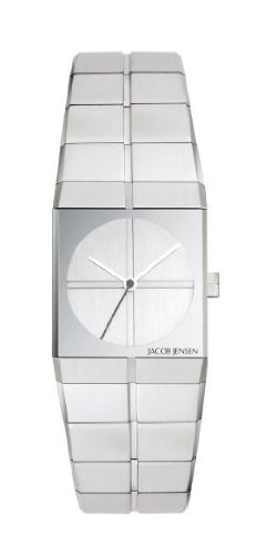 Jacob Jensen - 222 - Montre Femme - Quartz Analogique - Bracelet Acier Inoxydable Argent