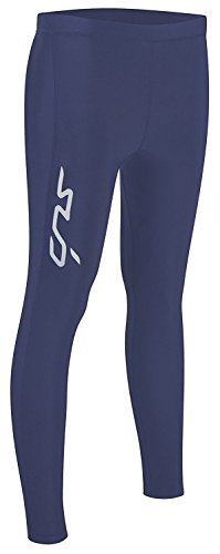 Sub Sports Cold Winter Damen Kompressionsleggings – Thermo-Unterhose - Dunkelblau - S (34)