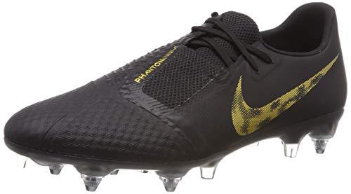 Nike Unisex-Erwachsene Phantom Venom Academy Sgpro Ac Fußballschuhe, Mehrfarbig (Black/MTLC Vivid Gold 077), 43 EU