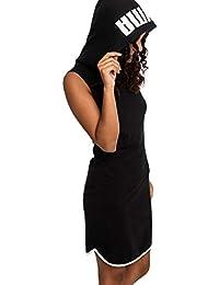 6f1b02600 Puma Summer Dress Vestido, Mujer, Cotton Black, S