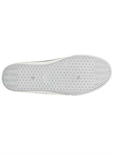 oodji Ultra Damen Bedruckte Slipper aus Baumwolle Weiß (1029A)