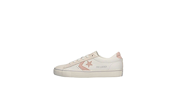 Converse Vulc Ox - Sneakers Basse Bianco/Rosa (41) : Amazon.it: Moda