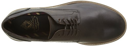 Base London Lincoln, Scarpe stringate Uomo Marrone (Marron (Pull Up Chocolate))