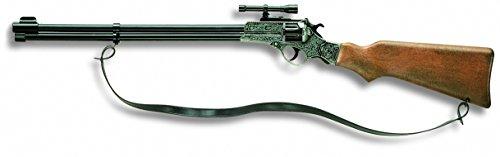 Edison Giocattoli Enfield: Spielzeuggewehr  für Cowboys und Sheriffs, ideal für Fasching, für 8-Schuss-Munition, in Box, 65.5 cm, braun (E0375/93)