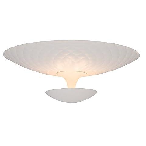 Design Deckenleuchte, indirekte Beleuchtung, 4x G9 max. 33W, Metall, weiß matt (Küche Indirekte Beleuchtung)