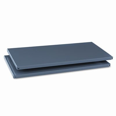 Commercial Steel Shelving Extra Shelves, 36w x 18d, Medium Gray, 2/Box