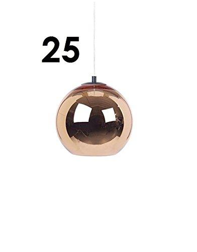 Tom dixon copper shade suspension cuivre brillant ø 25 cm