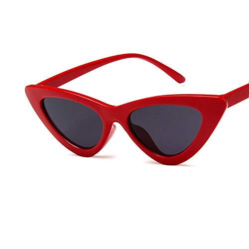 YUHANGH Mode Frauen Sonnenbrillen Cat Eye Retro Sonnenbrille Klar Candy Farbe Gläser Hip Hop Stil Brillen Weiblich
