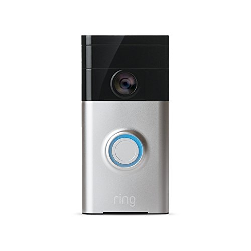 Price comparison product image Ring 88RG000FC01 Wi-Fi Enabled Video Doorbell - Satin Nickel