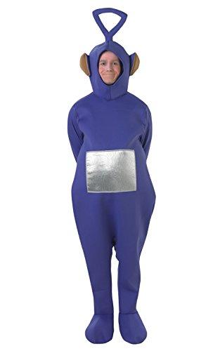Tinky Winky Teletubbies, Erwachsene Kostüm, Einheitsgröße, Lila ()