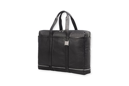 Get Moleskine Lineage Leather Briefcase on Amazon