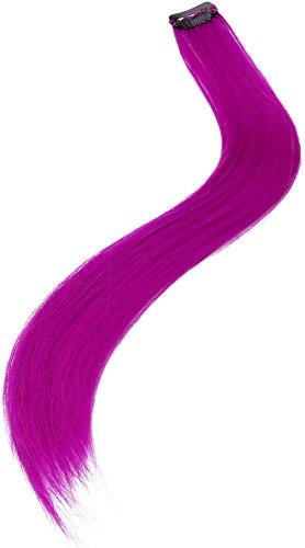 - Neon Purple Haarverlängerung