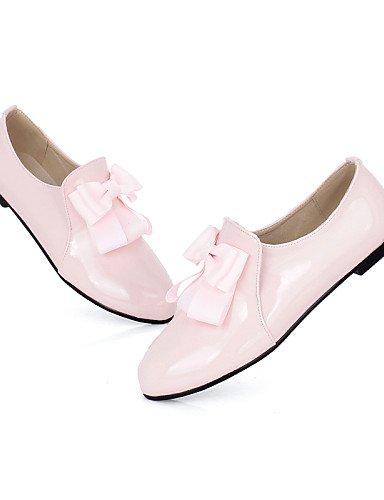 ZQ Scarpe Donna - Ballerine - Tempo libero / Ufficio e lavoro / Formale / Casual - Comoda / Punta arrotondata - Piatto - Finta pelle -Nero / , almond-us8 / eu39 / uk6 / cn39 , almond-us8 / eu39 / uk6  pink-us8 / eu39 / uk6 / cn39