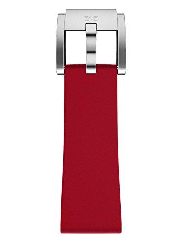 TW Steel Marc Coblen Armband Uhrenband Silikon 22 MM rot SB_R_S
