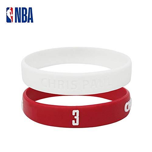 auvwxyz. Armbänder NBA Basketballspieler Universal Star Armband Silikon Ritter Krieger Curry James Owen Celtic, A