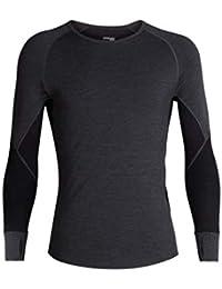 85e9a19b40 Icebreaker Zone Heavyweight Base Layer Long Sleeve Crew Neck Shirt, Zealand  Merino Wool