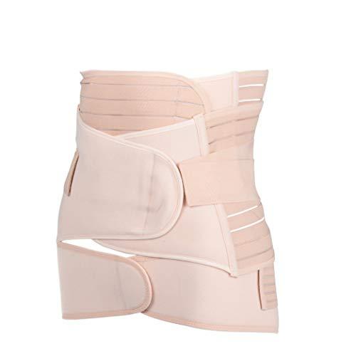 GOWINEU Taille Trainer 3 Teile/los Mutterschaft postnatalen Gürtel nach Schwangerschaft Bandage Bauchband (Entbeinen Taille Trainer)