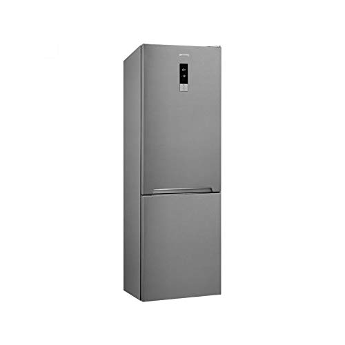 Smeg fc202pxne freistehend 360L A + + Edelstahl Kühlschrank mit Gefrierschrank