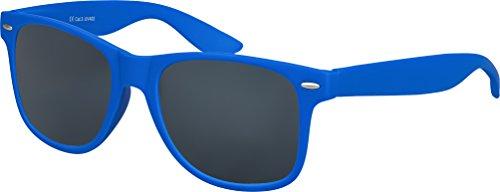 Balinco Original UV400 CAT 3 CE Vintage Unisex Retro Wayfarer Sonnenbrille - verschiedene Farben in...