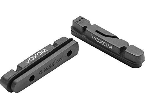 Voxom Ersatzbeläge Road Brb2 2 Stück, schwarz, Carbon-Felgen, Shimano, 718000121 Bremsen/bremsbeläge, One Size -