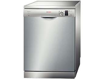 Bosch SMS50D08EU Autonome 12places A+ lave-vaisselle - lave-vaisselles (Autonome, Acier inoxydable, Acier inoxydable, boutons, Rotatif, 1,75 m, 1,65 m)