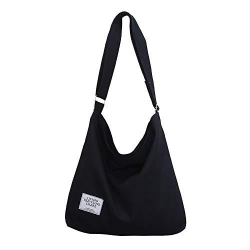 Mini Balabala Frauen Leinwand Shopper Tote Handtasche Mode Stoff Große Tote Schulter Einkaufstasche für Schule Reise Arbeit