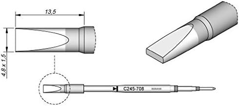 JBC C245708 C245708 C245708 speciale punta per saldatore T245   Acquisto    Prodotti di alta qualità    Prezzo Affare  bff4a8