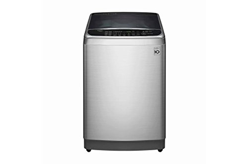 LG 10.0 kg Fully-Automatic Top Loading Washing Machine (T1084WFES5A, Stainless Steel)
