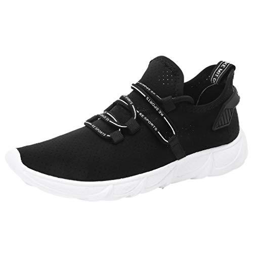 Sneaker Herren Sportschuhe Atmungsaktiv Leichtgewicht Laufschuhe Fitness rutschfeste Trainers Schuhe Unisex Freizeitschuhe Dämpfung Trainers Schuhe -