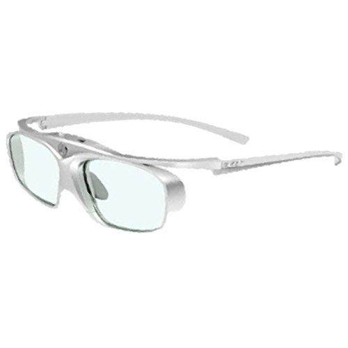 Acer DLP 3D Shutterbrille E4W (Wiederholungsrate 96 Hz/ 100 Hz/ 120 Hz/ 144 Hz, DLP 3D Link Technologie) weiß-silber