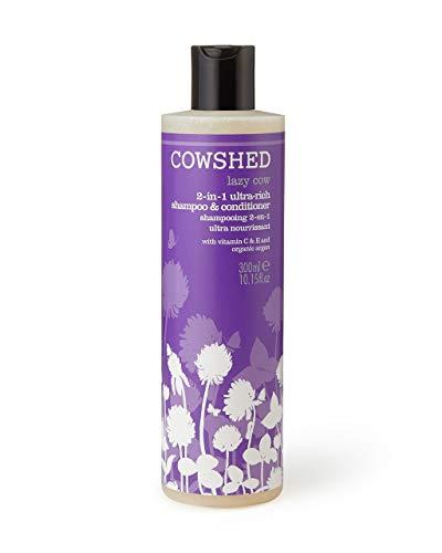 Cowshed Lazy Cow 2-in-1reichhaltige Shampoo und Conditioner 300ml -
