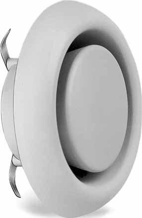 Helios Kunststoff-Tellerventil KTVA 150/160 Zu-/Abluftventil 4010184009436