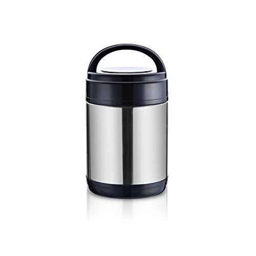 YCHSG Lunchbox Edelstahl isoliert Lunchbox dreischichtige Lunchbox große Kapazität zweischichtige Vakuum-Kochtopf Isolation Barrel -