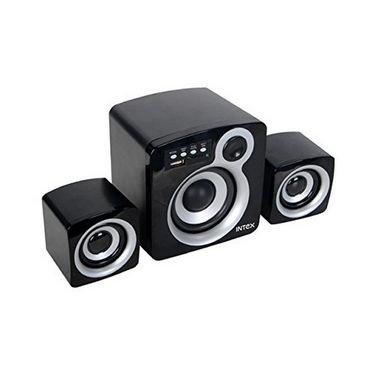Intex IT-850U 2.1 Channel Multimedia Speakers (Grey/Black)