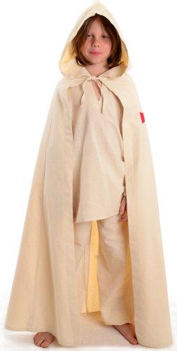 Mittelalter Umhang Kinder rotes Templerkreuz Mittelalterliche Kleidung (Templer Kleidung)