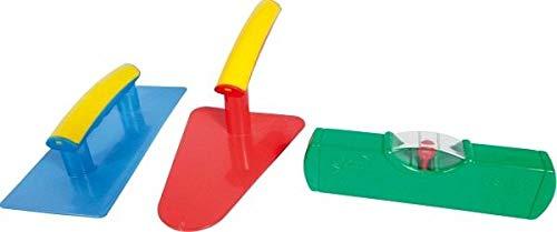 Gowi 558-73 Design Maurerset 3tlg, Kinderwerkzeug